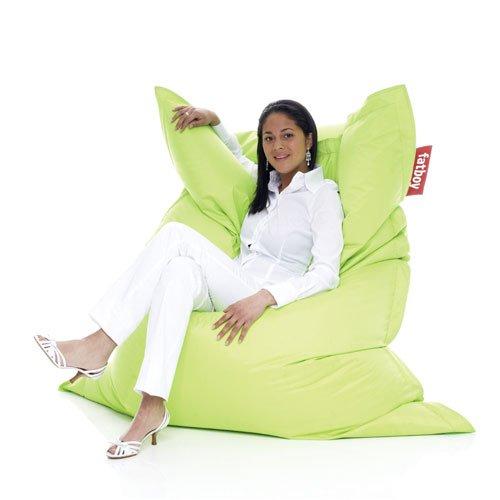 FATBOY Original limegrün! Kult Sitzsack, Sitzkissen zum Loungen, Chillen und Relaxen!