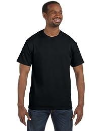 Gildan T-shirt à manches courtes en coton épais pour homme -  noir -  XXL
