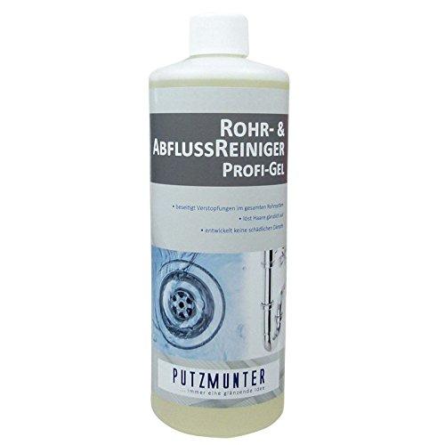 PUTZMUNTER Rohr- & AbflussReiniger Profi-Gel 1000ml
