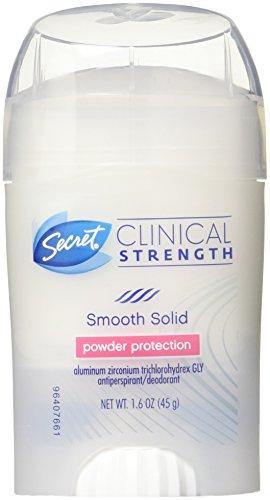 Secret Klinische Stärke massiv Antitranspirant Deo, Puder Schutz–1,6oz (45g)