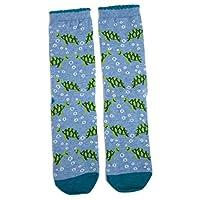 Ladies Turtley Awesome Turtle Tortoise Socks UK 4-8 Eur 37-42 USA 6-10