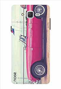 Noise Vintage Red Car Printed Cover for Samsung Galaxy J2