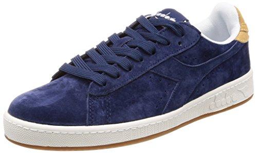 Diadora Game Low S Sneaker Uomo Blu Blu Estate Beige Juta 44 EU 9.5
