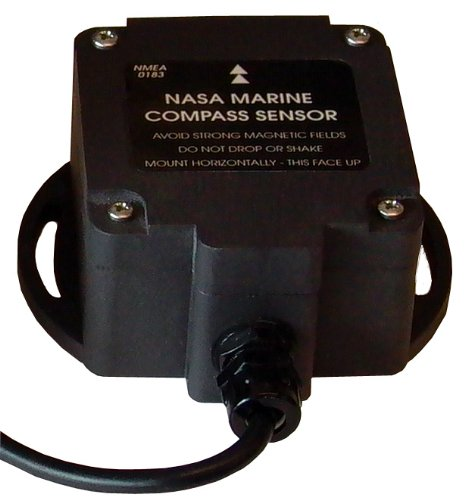 Nasa, Sensore Fluxgate Bussola Elettronica NMEA, colore: Nero