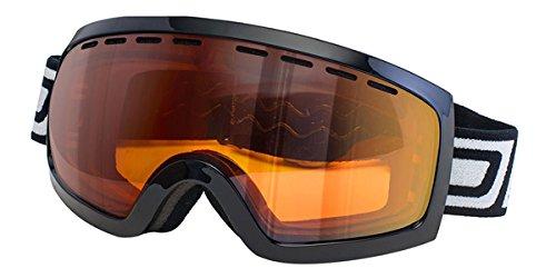 Dirty Dog Goggles 54084 Schwarz Elevator Visor Goggles Size Large