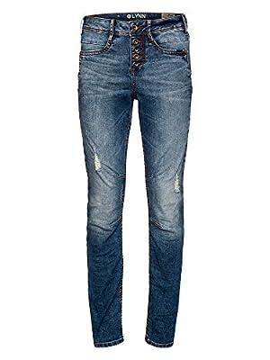 Tom Tailor Denim Women's Lynn Middle Blue Jeans