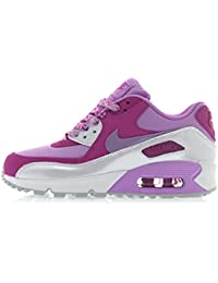 low priced a2256 20d3d Nike Air Max 90 Mesh (GS), Girls  Low-Top Sneakers