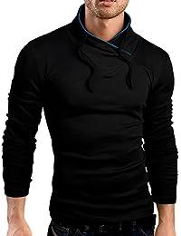 Grin&Bear coupe slim de col châle T-Shirt, manches longues, BH112
