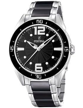 Festina Unisex-Armbanduhr Analog Quarz verschiedene Materialien F16395/2