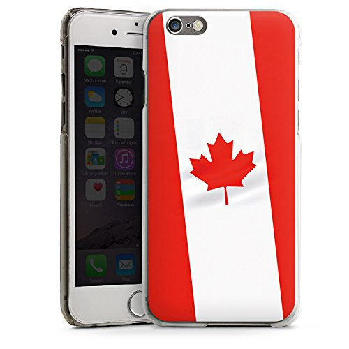 Apple iPhone 4 Housse Étui Silicone Coque Protection Canada Drapeau Canada CasDur transparent