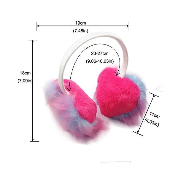 Gifts Treat Paraorecchie Paraorecchie per ragazze in peluche design carino 2 spesavip