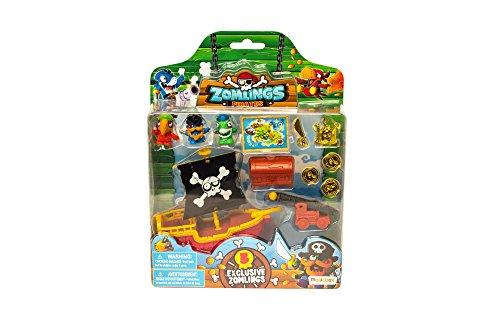 Zomlings - Blíster Pirata barco, color rojo (Magic Box Int Toys P00991)
