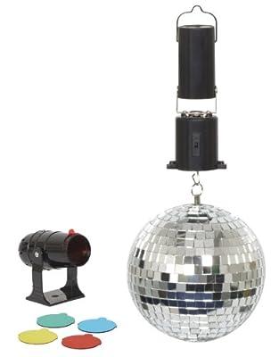 Cheetah G007BA 6-Inch Mirror Ball Party Set