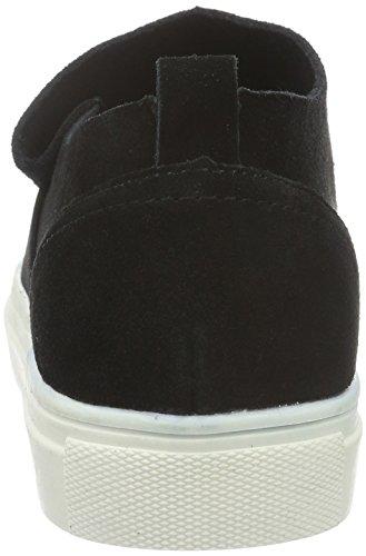 Vero Moda Vmkaroline Leather Shoe, Mocassini Donna Nero (Nero (nero))