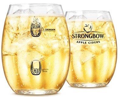 STRONGBOW Gläser 6 Stück mit jeweils 0,5 Liter. NEU