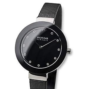BERING Reloj Analógico para Mujer de Cuarzo con Correa en Acero Inoxidable 11429-102