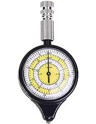 Longsw Karten-Entfernungsmesser, Kilometerzähler, Multifunktions-Kompass, Kurvimeter für Outdoor-Aktivitäten