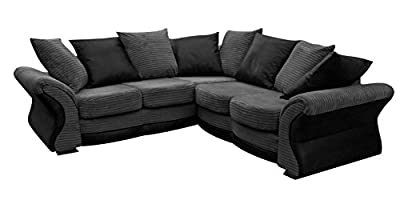 Camden Fabric Corner Sofa Jumbo Cord Brand New from ROBERTO