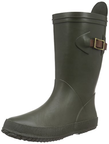 "Bisgaard Unisex-Kinder Rain Boot ""Scandinavia"" Gummistiefel Grün (30 Green)"