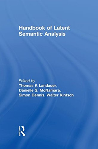 Handbook of Latent Semantic Analysis (University of Colorado Institute of Cognitive Science Series)
