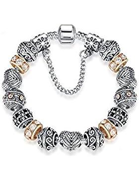 Prinzessin zu Stolberg Beauty Serie - Damen Charm Armband mit Sicherheitskette