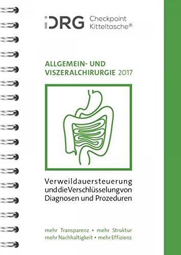 iDRG Checkpoint Kitteltasche Allgemein- und Viszeralchirurgie