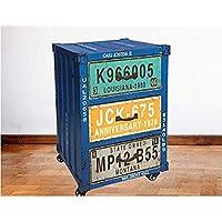 Vogue XW15A013 Cabinet with Drawer, Multi Color - H 59 cm x W 33 cm x D 39 cm