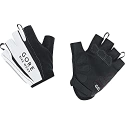 GORE BIKE WEAR Power 2.0 - Guantes de ciclismo para hombre, color blanco, talla 7
