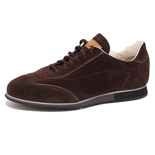 1103Q sneaker uomo SANTONI scarpa marrone shoe men [5]