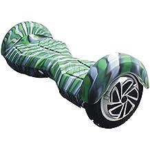Feicuan Soft Carcasa de silicona protección Cover Shockproof Twist Car cubierta para 8 Inch 2 Ruedas Scooter de Auto-equilibrio -Camouflag