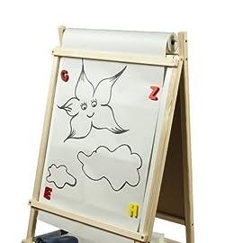 Ersatzpapier-35cm-x-20m-Kindertafel-Papier-Papierrolle-Ersatzrolle-Standtafel-Maltafel