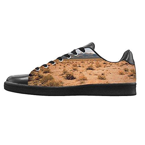 Dalliy sch?ne w¨¹stenlandschaft Men's Canvas shoes Schuhe Lace-up High-top Sneakers Segeltuchschuhe Leinwand-Schuh-Turnschuhe C