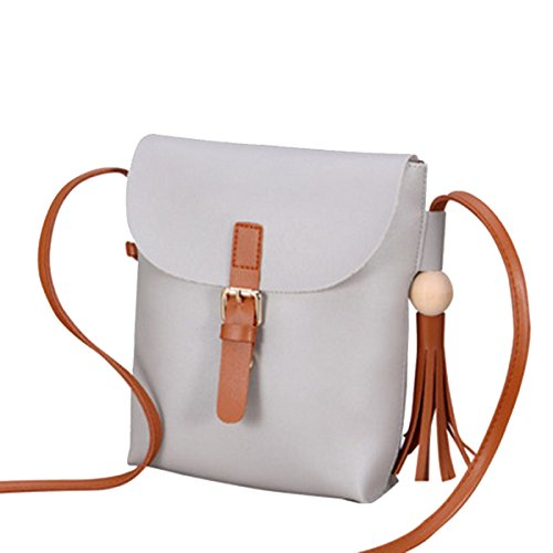 Moda Semplice Lady Messenger Bag Multi-color Grey