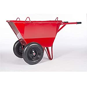Carro chino 2 ruedas Indoostrial – 140 litros – Ruedas neumáticas