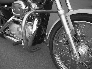 Highway/Crash Bars (Engine Guard) for Harley-Davidson Sportster XL Models, 1984-2003 - Chrome