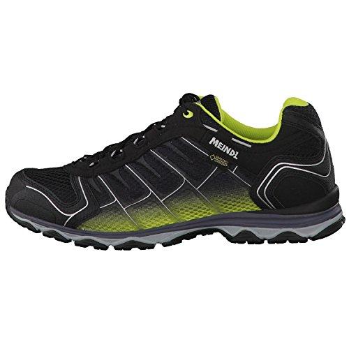 Meindl Homme Chaussures de randonnée x-So 30GTX® 39820 Noir - Jaune/noir