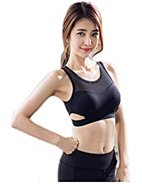 Women's Cotton & Polyester Non Padded Non-Wired Sports Bra