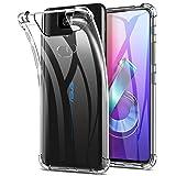 Yocktec Hülle für Asus ZenFone 6, Ultra-dünne weiche TPU Gel-Abdeckung Transparent Hülle Case [Kratzfest] [Stoßdämpfung] für Asus ZenFone 6 ZS630KL Smartphone[Transparent]