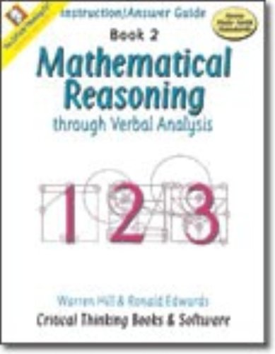 Mathematical Reasoning, Book 2 por Warren Hill