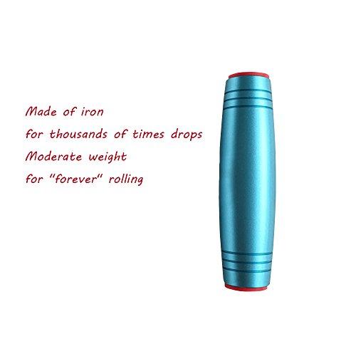 Preisvergleich Produktbild Eisen zappeln rollver Sticks–horsky Anti-Stress-Rolling Stick Schreibtisch Spielzeug Spiel Hand Auge Konzentration Trainer für Kinder Erwachsene