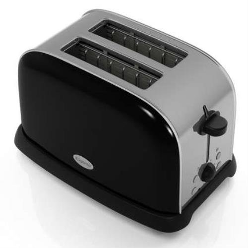 Elgento E447B Two Slice Toaster 800 W Black Amazon