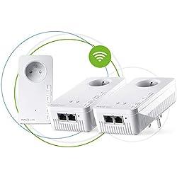 devolo Magic 2 WiFi: Multiroom Kit CPL le plus rapide au monde pour un WiFi ac dans toute la maison via la ligne électrique, WiFi Mesh, technologie G.hn