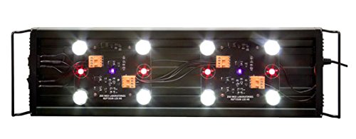 ReptiSun LED Terrarium Hood ca 76 bis 97 cm ausziehbar - Terrarienabdeckung