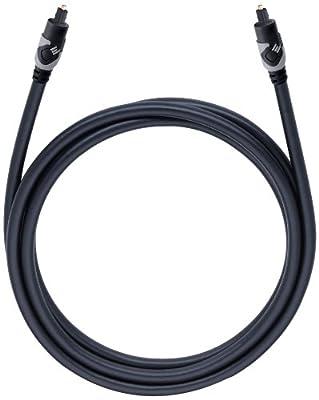 Oehlbach - 133 - Câble optique - 1,5 m - Noir par Oehlbach
