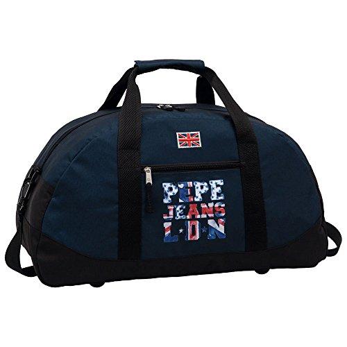 Pepe Jeans 6063551 Bolsa de Viaje, 27 Lt, Color Azul