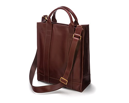 Sage Brown, Borsa a mano uomo Taglia unica Dark Tan