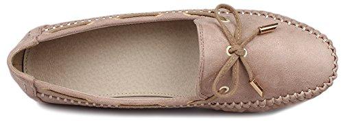 Fangsto  Boat Shoes,  Damen Sneaker Low-Tops Khaki