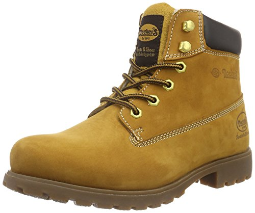 Dockers by Gerli 35ve106, Botines para Hombre, Amarillo (Golden Tan 910), 40 EU