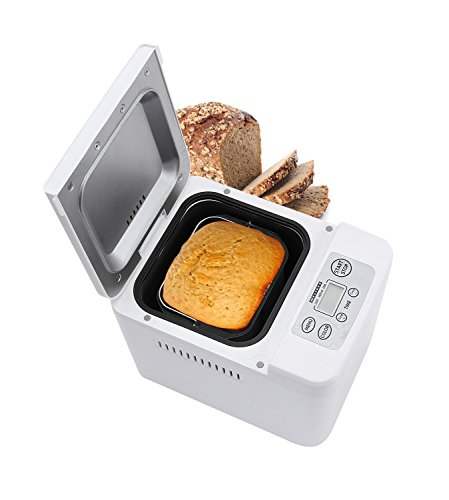 Melissa Brotbackautomat mit vollautomatischer Teig- und Brotzubereitung, Brotback-Automat mit Timer