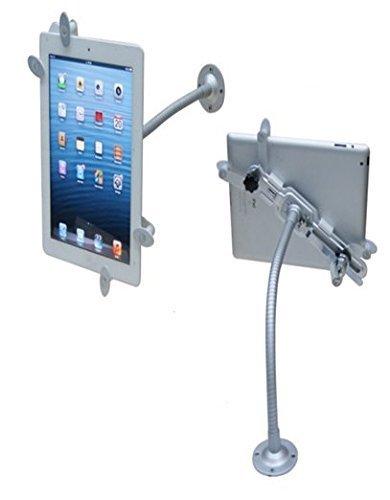 System-S - Soporte Expositor antirrobo con vástago Flexible y Cerradura de Seguridad para Tablet o PC de 10 - 12,6 Pulgadas